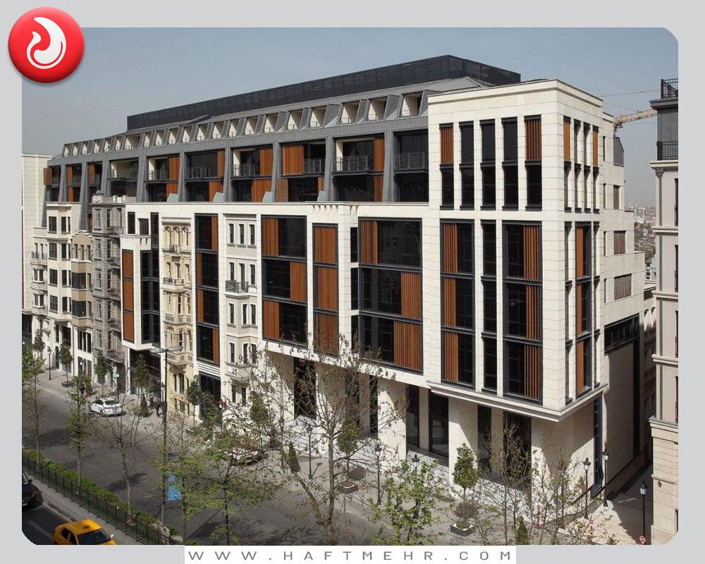آپارتمان و آفیس در تاکسیم استانبول