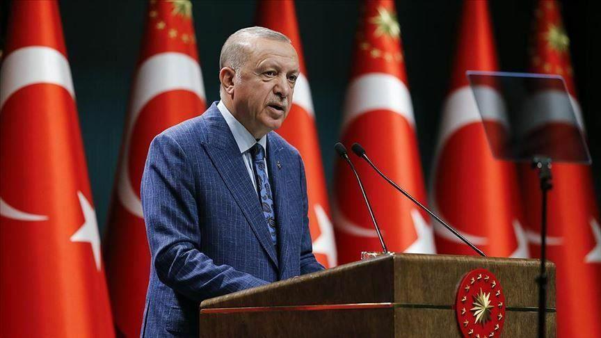 اردوغان: ترکیه در دوره پساکرونا یکی از کشورهای درخشان جهان خواهد بود
