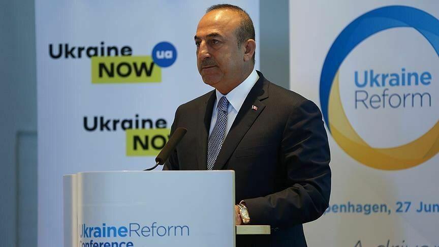 جایزه ویژه اوکراینیها به وزیر امور خارجه ترکیه