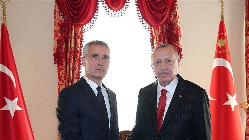گفتوگوی تلفنی رئیسجمهور ترکیه با دبیرکل ناتو
