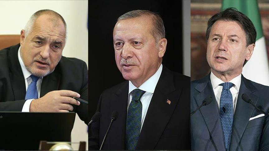 گفتوگوی تلفنی رئیسجمهور ترکیه و نخستوزیران بلغارستان و ایتالیا