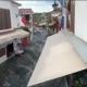 وقوع سونامی در شهرهای ساحلی ترکیه و راه افتادن آب در شهر