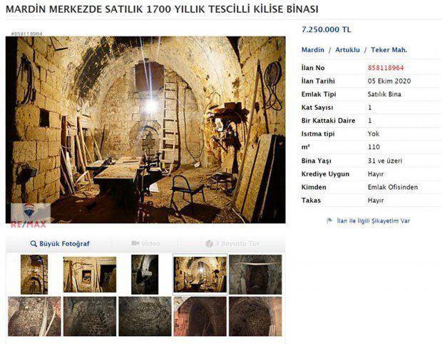 کلیسای 700 ساله به فروش گذاشته شد