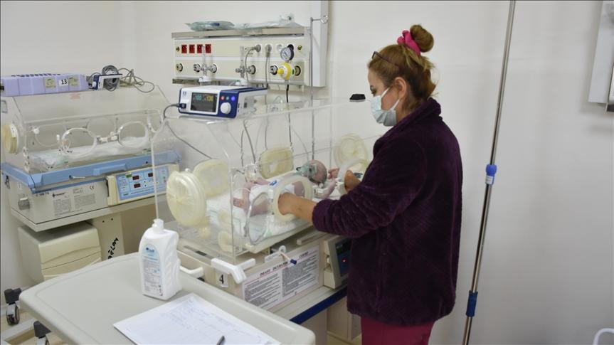 تاسیس بخش مراقبتهای ویژه نوزادان توسط ترکیه در شمال سوریه
