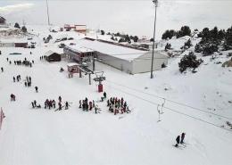 «کوه ارگان» مرکز اسکی ترکیه در آناتولی شرقی